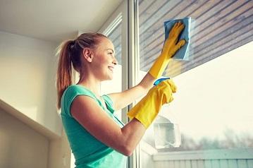 Экономный способ мытья окон
